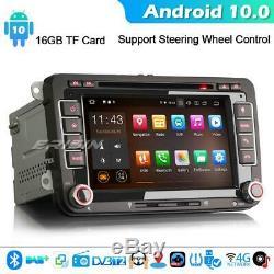 10.0 For Android Car Vw Golf Passat Tiguan Skoda Touran T5 Carplay Dab + DVD