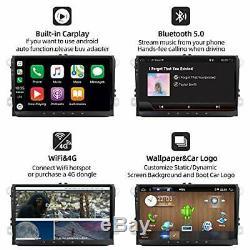 10.0 Radio Yuntx Android Compatible With Vw Passat / Golf / Skoda / Seat Gps