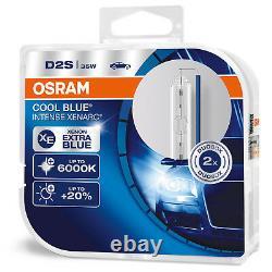 2 X D2s New Osram Xenarc Cool Blue Intense 6000k Xenon Ampoule Lamp (twin)
