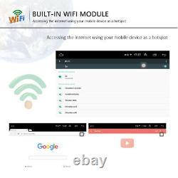 2din Autoradio 8 Android 8.1 Bluetooth Gps Wifi For Vw Skoda Seat-12led Camera