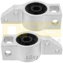 2x Alu Silent Block Suspension Front Left & Right For Vw Golf V 5 1k1 1k5