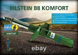 2x Bilstine B8 Shock Absorber Comfort Front Axle A3 8p Golf 5 6 Ø 55mm