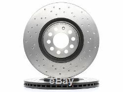 2x Brembo Brake Disc Vw Golf IV 1j1 Polo 9n New Beetle 9c1, 1c1 Bora 1j2