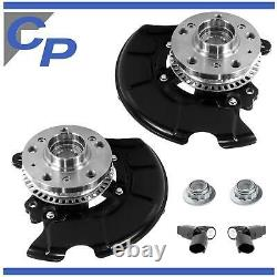 2x Pre-mounting Pre-mounting Pre-mounting Vw Golf IV 4 Left Right Wheel Abs Sensor