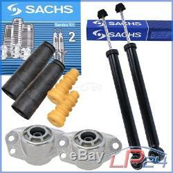 2x Sachs Rear Shock Vw Golf 4 Bora 1d 1d