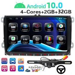 32gb 9 Dab + 10.0 Android Gps Car Audio For Vw Passat Golf Polo Tiguan Jetta 5/6