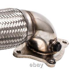 3'' Downpipe For Audi A3 Tt Seat Leon Vw Passat Golf 5 6 Beetle Gti Tsi