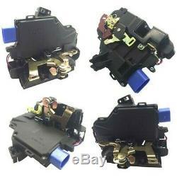 4x Door Lock Actuator Front Rear For Vw Golf Scirocco Transporter