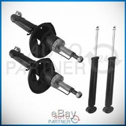 4x Shock Absorber For Vw Golf 4 IV Bora Audi A3 Front Rear Lot + Pressure Gas