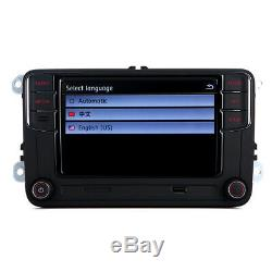 6.5 Radio Rcd330 Carplay 280 Bt 187b For Vw Golf 6 May Passat Polo Tiguan