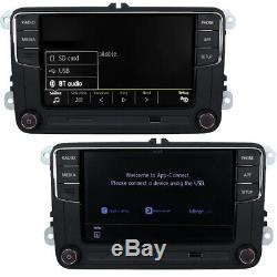 6.5 Radio Rcd330 Carplay 280 Bt 187b For Vw Golf 6 May Polo Tiguan Passat CC