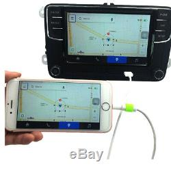 6.5 Radio Rcd330 Carplay Mirrorlink Bt Rvc For Vw Golf Gti Eos Passat Polo
