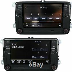 6.5 Radio Rcd360 Carplay Bt 187b For Vw Golf 6 May Passat Polo Tiguan Touran