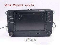 6.5autoradio Rcd330g Vw + Mirrorlink, Bt, Usb, Rvc For Tiguan, Golf, Caddy, Polo Eos