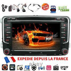 7 Autoradio DVD Bluetooth Gps For Vw Golf Mk5 Mk6 Passat CC Skoda Touran Jetta
