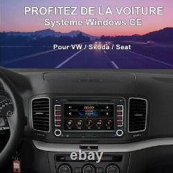 7 For Vw Golf 5 Radio Skoda Yeti Seat Altea XL Toledo Car DVD Gps Bt CD