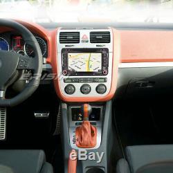 7android 8.0 Car Radio Navi CD Dab + Gps For Passat Golf Touran Jetta Skoda Seat