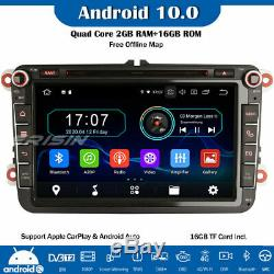8 Dab + 10.0 Android Gps Car CD For Vw Passat Polo Tiguan Jetta Golf 5 Seat