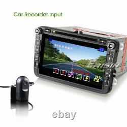 8 Dab Gps Autoradio For Vw Golf Passat Polo Touran Tiguan Caddy Bt Tnt Ops DVD