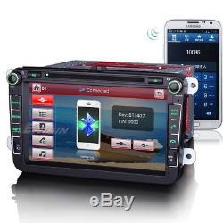 8 Gps Car Radio Dab + For Vw Golf 5 6 Passat Touran T5 Tiguan Eos Seat Altea Eos
