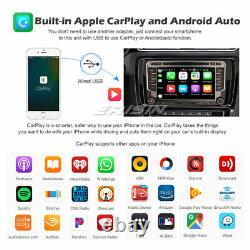 8-core Android 10 Autoradio Dab-carplay Navi For Vw Passat Golf 5 Polo Tiguan T5