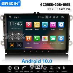 9 Android 10.0 Dab Navi Autoradio For Vw Golf 5/6 Passat Touran Jetta Polo Eso