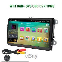 9 Android 8.1 Car Gps Hd Wifi For Vw Passat Golf 5/6 Touran Tiguan Seat