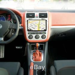 9android 8.1 Touchscreen Car Radio Dab + Gps Navigation Vw Golf Mk5 Mk6 T5.1 T28