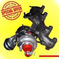 A3 Ibiza Fabia Golf Turbocharger 100cv 54399700006 54399880017 038253010a