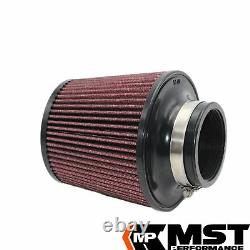 Air Filter Admission Kit By Mst Performance For Golf Mk5 Gti Mk6 R Tfsi