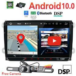 Android 10.0 Radio Dab + Usb Gps Tnt Obd Bluetooth Wireless Dvr For Vw Golf 5/6