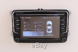 Android 7.1 Radio For Vw Golf Passat Tiguan Polo Touran Seat Skoda Stereo DVD