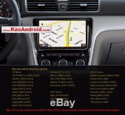 Android 7.1 Vw Passat Golf Seat Jetta Touran Caddy Skoda 3g Car 9 Gps Radio