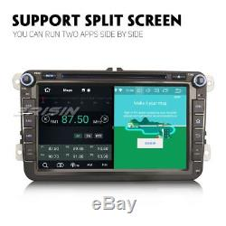Android 8.0 Gps Car Audio Dab + For Vw Golf Seat Passat 6 6 Jetta Touran Ops CD 4g