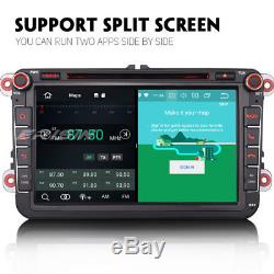 Android 8.1 Car Gps For Vw Seat Skoda Amarok Passat Golf Tiguan Polo Jetta