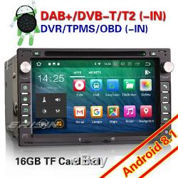 Android 8.1 Dab + Gps Car Audio Vw Bora Golf IV Transporter Superb Galaxy DVD Seat
