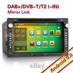 Android 9.0 Dab + Radio Gps For Vw Bora Jetta Polo Golf Seat Transporter T5 4g