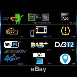 Android 9.0 Octa-core Gps Car Radio Dab + For Vw Passat Golf Seat Jetta Touran 4g