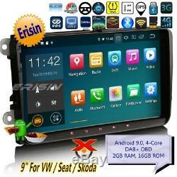 Android 9.0 Px30 Tnt Car Seat For Vw Golf Skoda Fabia T5 Tiguan Dab + 94818