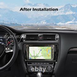 Android Carplay 10 Dab + Radio For Vw Passat Mk5 Golf 6 Tiguan Fabia Bt 85985