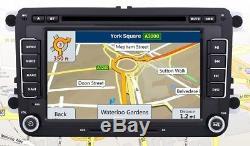 Autoradio DVD Gps 7 Touch Vw Volkswagen Golf 5 6 Tiguan Passat Skoda Seat