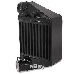 Black Side Mount Smic Aluminum Intercooler For Vw Golf Mk4 Bora 1.8t 1.9tdi