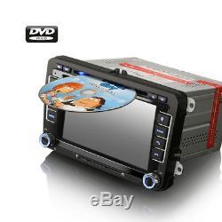 Bluetooth Usb Car Audio Gps Navigation CD Mp3 Sd For Vw Passat DC 3c Golf V VI