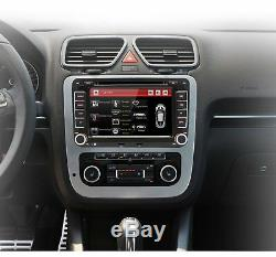 Car Radio Bluetooth 2 Din Gps For Vw Seat Skoda Octavia Leon Altea Golf Passat