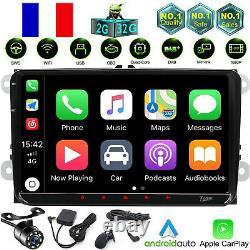 Carplay Android 10 Autoradio For Vw Seat Golf Skoda Altea Fabia Dab 9 Camera