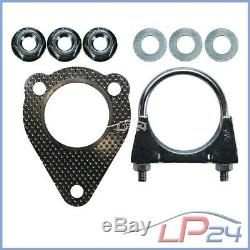 Catalytic Converter Kit + Assembly On Vw Golf 4 IV Bora 1d 1d 9c New Beetle 1.9 Tdi