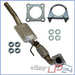 Catalytic Converter With Kit / Assembly Parts Vw Golf 4 IV 1d 1.9 Sdi 1997-06