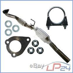 Catalytic Pot + Assembly Kit Vw Bora 1d Golf 4 IV 1d New Beetle 9c 1.9 Tdi
