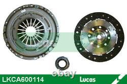 Clutch Kit Lucas Lkca600114 For Polo, Golf, A3, Touran, A1, Leon, Passat