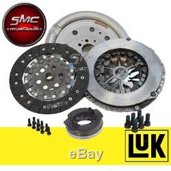 Clutch Kit + Steering Wheel Engine Luk Audi A3 Golf V 5 Vw Passat 1.9 Tdi 105 Ch